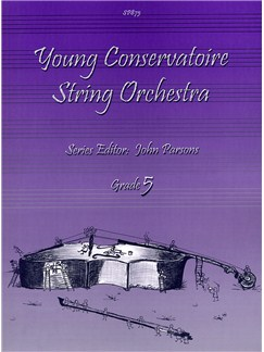 Young Conservatoire String Orchestra - Grade Five Books | String Orchestra