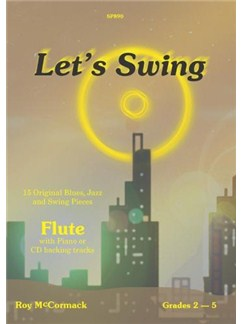 Roy McCormack: Let's Swing Books and CDs | Flute, Piano Accompaniment