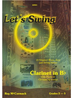 Roy McCormack: Let's Swing Books and CDs | Clarinet, Piano Accompaniment