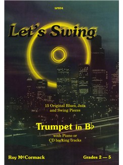 Roy McCormack: Let's Swing (Trumpet In B Flat) Books and CDs | Trumpet, Piano Accompaniment
