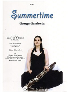 George Gershwin: Summertime (arr. Bassoon and Piano) Books | Bassoon, Piano Accompaniment