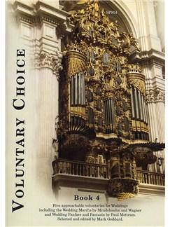 Voluntary Choice - Book 4 (Wedding Music) Books | Organ