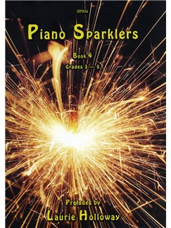 Laurie Holloway: Piano Sparklers Book 4 - Grades 3-5 Books | Piano