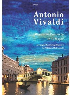 Antonio Vivaldi: Mandolin Concerto (String Quartet) Books | String Quartet