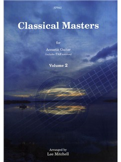 Classical Masters For Acoustic Guitar - Volume 2 Books | Guitar