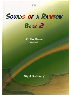 Nigel Goldberg: Sounds Of A Rainbow Book 2 - Violin Duets Grade 2 Books | Violin (Duet)