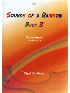 Nigel Goldberg: Sounds Of A Rainbow Book 3 - Violin Duets Grades 3-4 Books | Violin (Duet)