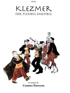 Klezmer For Flexible Ensemble Books | Ensemble