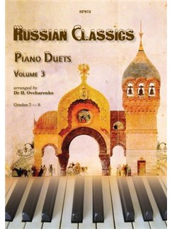 Russian Classics For Piano Duet - Volume 3 Books | Piano Duet