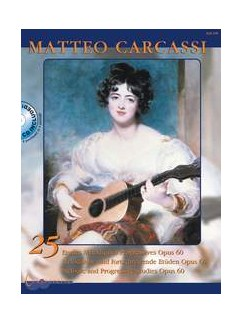 Matteo Carcassi: Twenty Five Progressive Etudes Op.60 (Michael Macmeeken) Books   Guitar, Classical Guitar