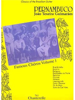 Joao Pernambuco: Famous Choros Volume 1 Books   Guitar