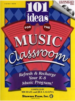 101 Ideas For The Music Classroom (2 CD-ROM Set) CD-Roms / DVD-Roms | Voices