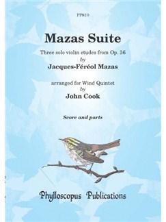 Jacques-Féréol Mazas: Mazas Suite Books | Wind Quintet