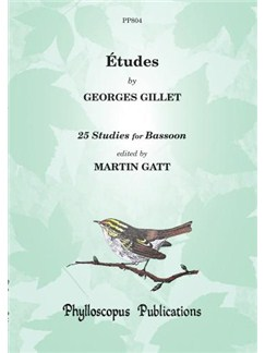 Gillet: Études (25 Bassoon Studies ed. Gatt) Books | Bassoon