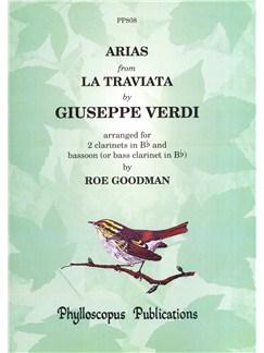 Giuseppe Verdi: Arias From La Traviata (Woodwind Trio) Books | Clarinet (Duet), Bassoon (Duet), Bass Clarinet (Duet)