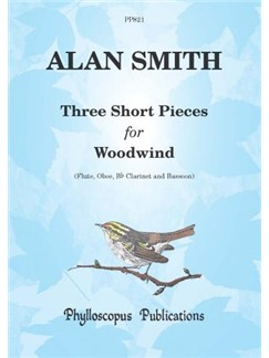 Alan Smith: Three Short Pieces For Woodwind Books | Wind Quartet
