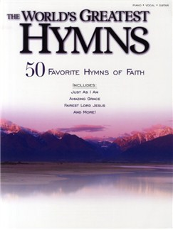 The World's Greatest Hymns Books | Piano, Vocal & Guitar (with Chord Boxes)