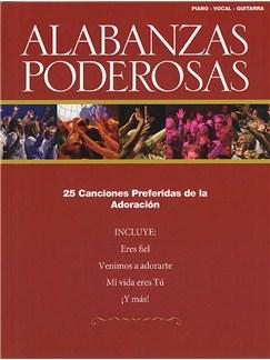 Alabanzas Poderosas Books | Piano, Vocal & Guitar