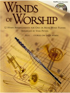 Winds Of Worship (Flute) Books and CDs | Flute (Oboe or Violin)