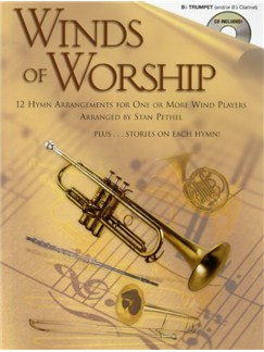 Winds Of Worship (Trumpet) Books and CDs | Trumpet