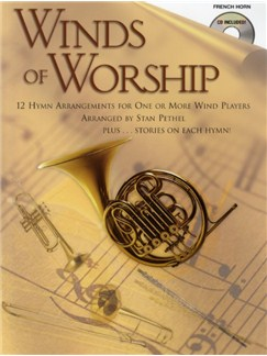 Winds Of Worship (French Horn) CD et Livre | Cor