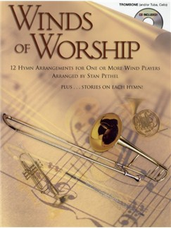 Winds Of Worship (Trombone) Books and CDs | Trombone (Tuba or Cello)