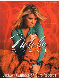 Natalie Grant: Awaken Books | Piano, Vocal & Guitar