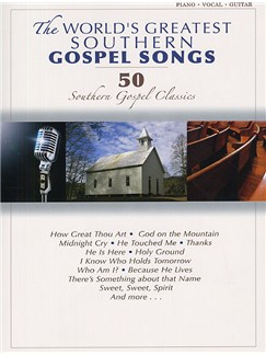 The World's Greatest Southern Gospel Songs Books | Piano, Vocal & Guitar (with Chord Boxes)