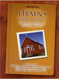 Hymns You Love Books | Piano, Vocal & Guitar (with Chord Boxes)