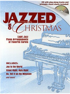 Jazzed On Christmas - Book And CD Books and CDs | Piano