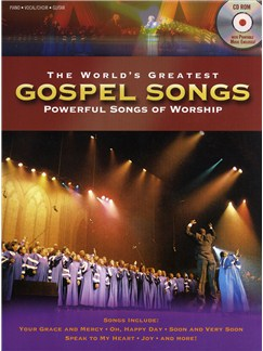 The World's Greatest Gospel Songs (Book and CD-Rom) Books and CD-Roms / DVD-Roms | Piano, Vocal & Guitar