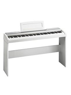 Korg: SP170 White Digital Piano - Matching Stand  | Digital Piano