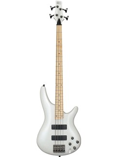 Ibanez: Bass Guitar SR300M (Maple/Piano White) Instruments | Bass Guitar