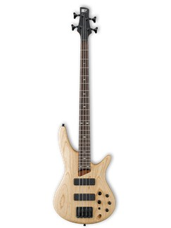 Ibanez: Bass Guitar SR600 (Bubinga/Natural Flat) Instruments | Bass Guitar