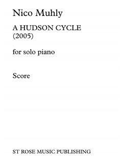 Nico Muhly: A Hudson Cycle Books | Piano