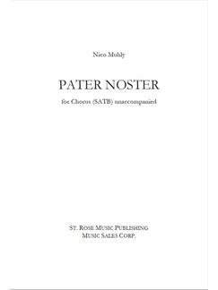 Nico Muhly: Pater Noster Books | SATB, Soprano