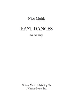 Nico Muhly: Fast Dances Books | Harp (Duet)