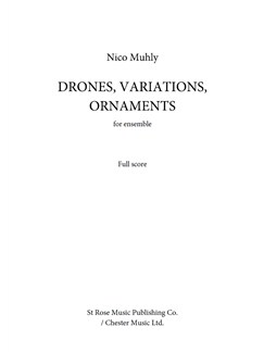 Nico Muhly: Drones, Variations, Ornaments Books | Ensemble