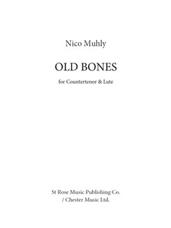 Nico Muhly: Old Bones Libro | Contratenor, Laud