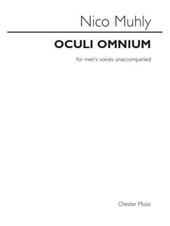 Nico Muhly: Oculi Omnium Books | Men's Voices