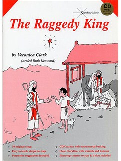Veronica Clark: The Raggedy King Books and CDs | Voice, Piano Accompaniment (with Chord Symbols), Percussion