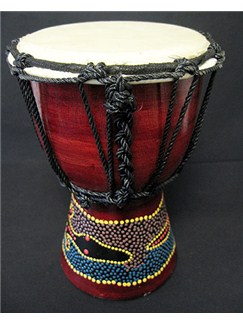 Siesta: Painted Djembe (20cm) Instruments | Percussion, World Drums