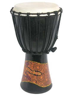 Siesta: BD23 Painted Djembe (50cm) Instruments | Percussion
