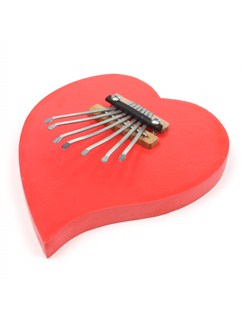 Siesta: Thumb Piano (Heart) Instruments | Percussion