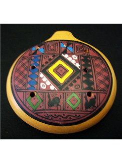 Siesta: 10cm Inca Ocarina Instruments | Ocarina