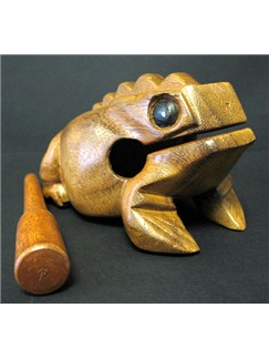 Siesta: Thai Frog Guiro (Large) Instruments | Percussion, World Drums