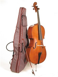 Stentor: Student II Cello Outfit - 4/4 Size Instruments | Cello