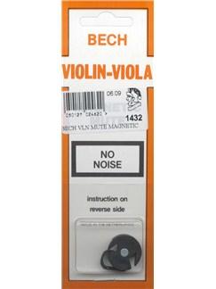 Bech: Magnetic Violin/Viola Mute  | Violin, Viola