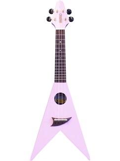 Mahalo: V-Shaped Ukulele - Pink Instruments | Ukulele