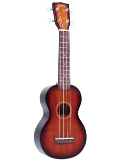 Mahalo: Java MJ1 Soprano Ukulele - Three 3 Tone Sunburst Instruments | Ukulele